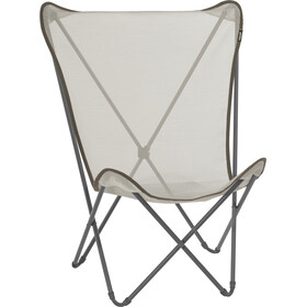 Lafuma Mobilier Maxi Pop Up Silla plegable con Cannage Phifertex, seigle